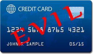 Evil credit cards