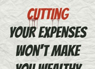 You Can't Cut Your Way to Wealth