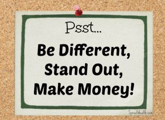 Be Different and make money