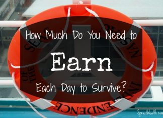 earning money to survive