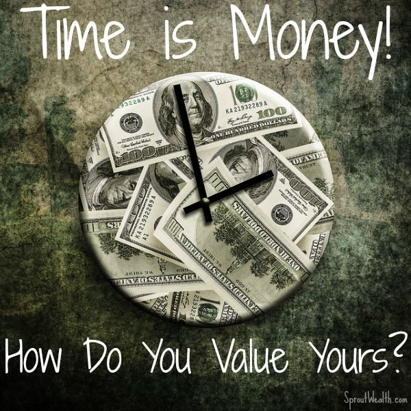 Time is Money!  Do you Treat it as Such?