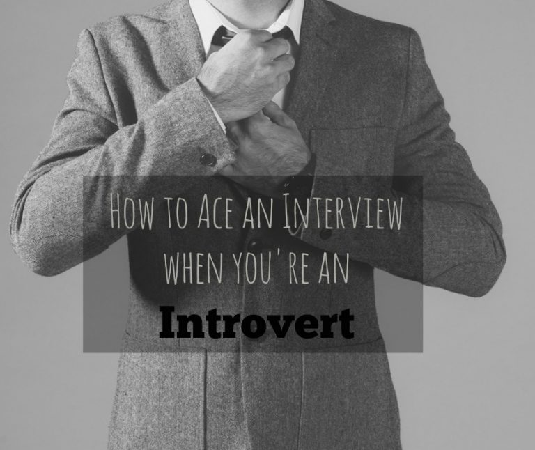How to Ace an Interview When You're an Introvert